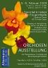 Orchideenausstellung vom 6. bis 8. Februar 2009